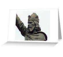 King Alfred Greeting Card