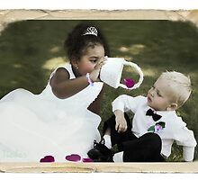 The Flower Girl and The Ring Bearer by Ticker
