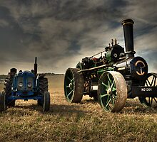 The Fowler & the Fordson by Rob Hawkins