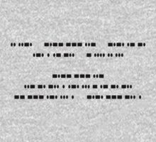 If you can read this, You understand Morse Code Kids Clothes