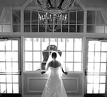 Stunning Bride in the Window by ajreece