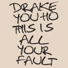 ÐRAKE YOU HO THIS IS ALL YOUR FAULT by torontowhere