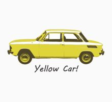Yellow Car! by inkgeek