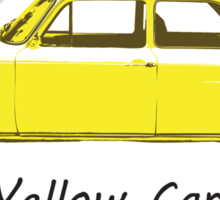 Yellow Car! Sticker