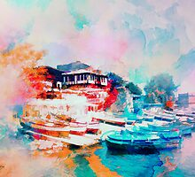 Nesebar Coast by rosalin