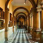 Glasgow Kelvinggrove Gallery Corridor by Peter Stark