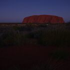 Last Light - Uluru by Linda Fury