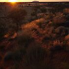 Sunrise - Uluru by Linda Fury