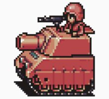 Advance Wars Tank by TooManyPixels