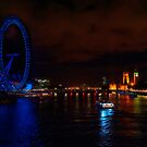 London at Night by Mark  Swindells