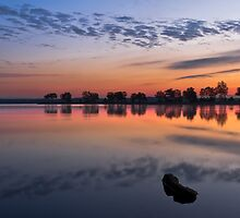 Mirror Mirror on the Lake by Mathew Courtney