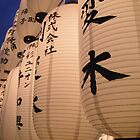 Japanese Lanterns in Kyoto by DaveM