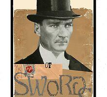Dada Tarot-King of Swords by Peter Simpson