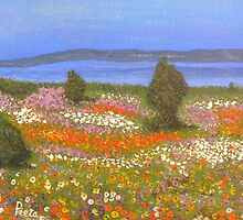 Wild Flowers on the West Coast by Pieta Pieterse