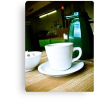 The Coffee Shop 03 Canvas Print