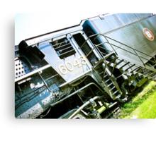 Old locomotive Steam Train 02 Canvas Print