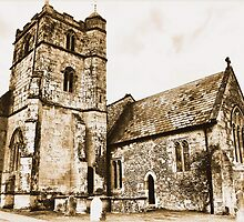 St Michael ~ Coombe Bissett by Clive