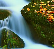 AUTUMN CASCADE by Chuck Wickham