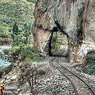 Rebuilding Peru Rail-  Urumbamba Valley by Edith Reynolds