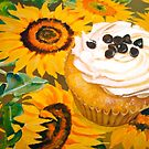 Cupcakes and Sunflowers... by © Janis Zroback