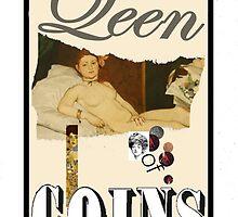 Dada Tarot-Queen of Coins by Peter Simpson