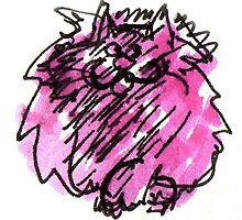 Big Purple Cat by Suzy Woodall