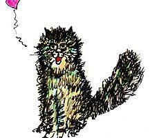 Scruffy Love Cat by Suzy Woodall
