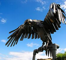 heavy metal eagle by joak