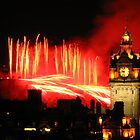 Edinburgh Festival Fireworks 2011 (III) by Shienna