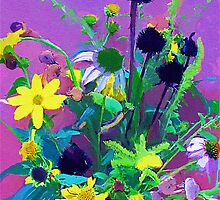 Late Summer Bouquet by suzannem73