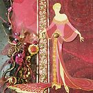 Erte-esque; Pink Lady by Ian A. Hawkins