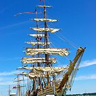 Tall Ship  by Jeannie  Mazur