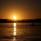 Sunset Kayak by -aimslo-