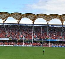 Metricon Stadium......... a day at the footy by BK Photography