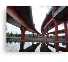 No Man´s Land - Under the Bridges Canvas Print