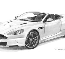 Aston Martin DBS Volante by Steve Pearcy