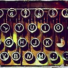 Enigma - Typewriter I by Sybille Sterk