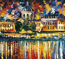 PARIS ART INSTITUTE - LEONID AFREMOV by Leonid  Afremov