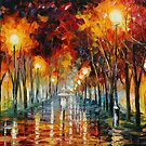 APPROACHING - LEONID AFREMOV by Leonid  Afremov