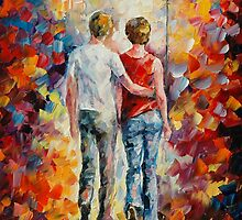 LOVE WALKED IN - LEONID AFREMOV by Leonid  Afremov
