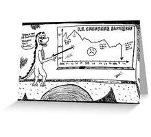 U.S. Consumer Happiness 2000 - 2011 Greeting Card
