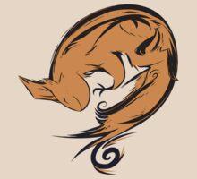 Swirl squirrel by Ekorren