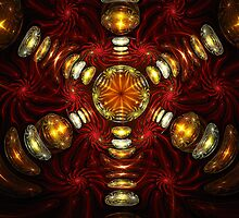Spherical Gems Scepter  by Beatriz  Cruz