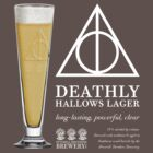 Deathly Hallows Lager (light text) by Steve Hryniuk