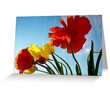 Flowers in the Window Greeting Card