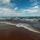 Brisk Day on Lake Superior by jrier