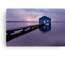 On the Swan River  Canvas Print