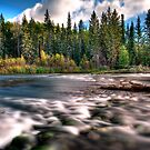 Quiet river - Prince Albert National Park (Saskatchewan) by camfischer