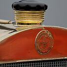 1908 Mercedes 150 HP Race Car Hood Emblem by Jill Reger