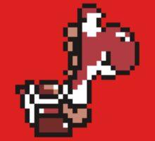 Yoshi - 16bit Red by Ryan Wilson